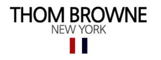Thom Browne(トム・ブラウン)ロゴ