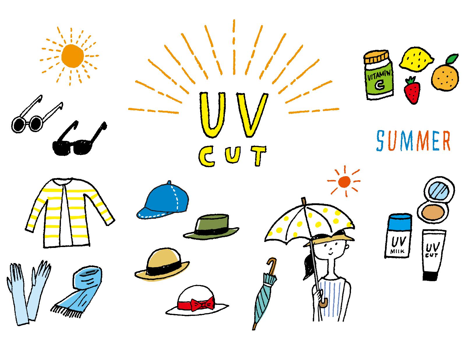 メガネ日焼け対策,UV対策