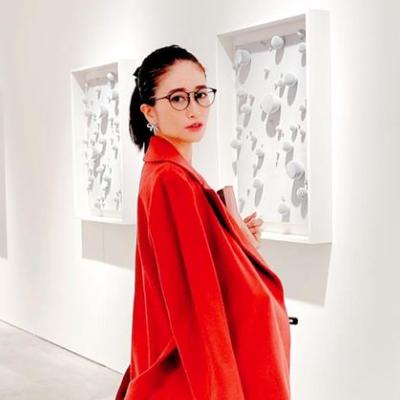 大村香織さんのメガネ着用画像002